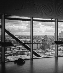 Uitzicht over stad